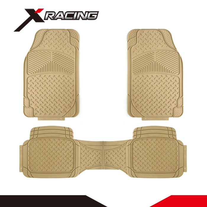 Xracing IAFM-007BE Factory price custom color car trunk mat pvc car floor mats