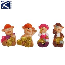 Chinese imported make fortune pig ornaments decor