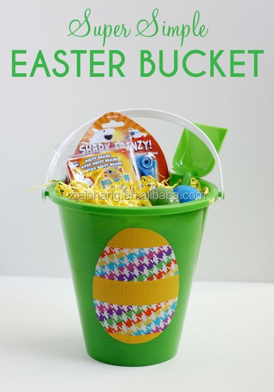 The USA Fashionable First Rate High Quality food grade plastic easter egg basket Bpa free