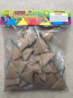Big triangle firecrackers or fireworks triangle crackers