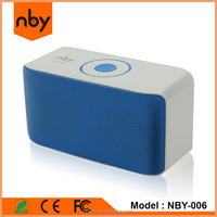 nby new model active music 5W small bluetooth speaker with fm radio