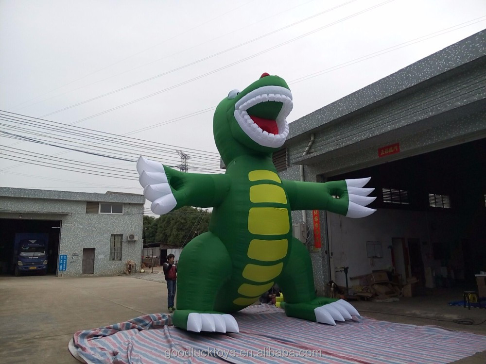 giant Customized advertising inflatable dinosaur model, inflatable dinosaur model, inflatable animal model for display