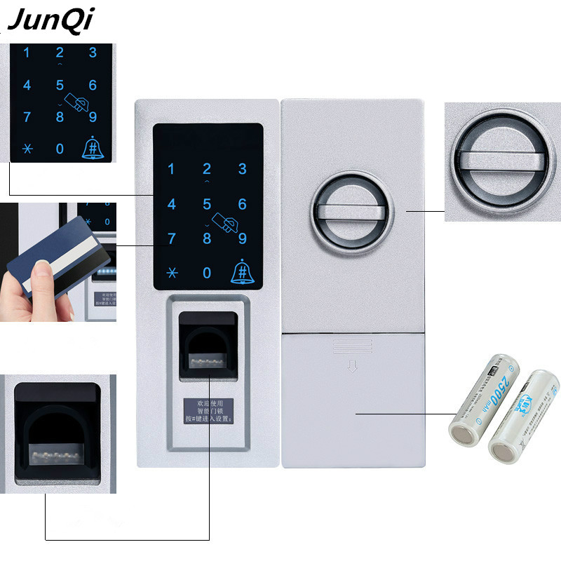 Smart Electronic Fingerprint Door Lock With 1000 Fingerprints