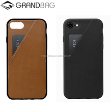 smart leather card case mobile phone cover for iphone 7/8 plus X