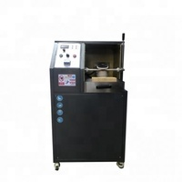 Small portable manual tilting induction gold smelter for 1-2kg gold and silver