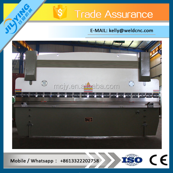 CNC hydraulic stainless steel bending machine low noise sound 100t 3200mm press brake