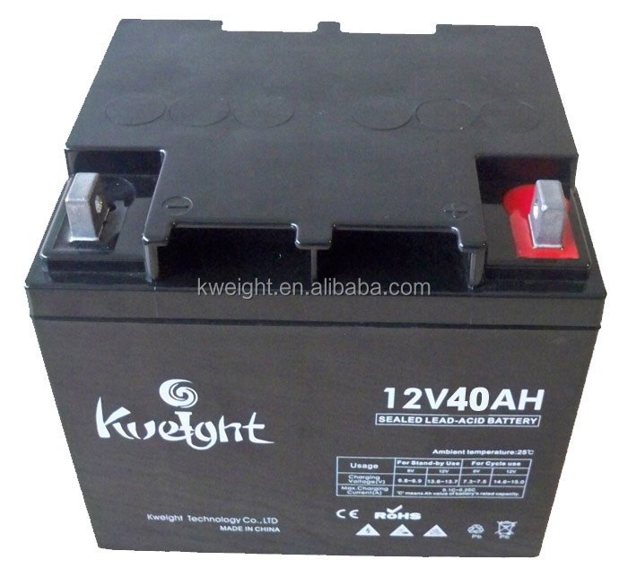 12v 40ah SLA Battery UL Listed Only