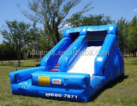 Hola inflatable slide/inflatable slide for kids and adults/inflatable bouncer