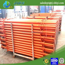 adjustable steel tubular scaffolding supporting roof or bridge tunnels and so on