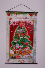 Cheap customized 3D christmas decoration wall picture