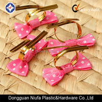 Metallic gold color plastic twist tie used for decorating/packaging made in China