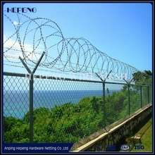Security fencing razor barbed wire / razor combat wire / safety razor wire (ISO9001:2008 professional manufacturer)