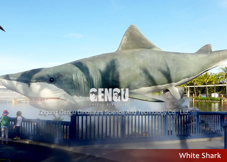 Water Park Decoration High Quality And Simulation Shark Model