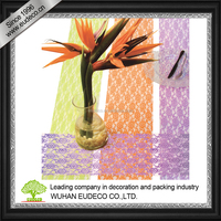 lace lotus mesh for flower wrapping, home decoration