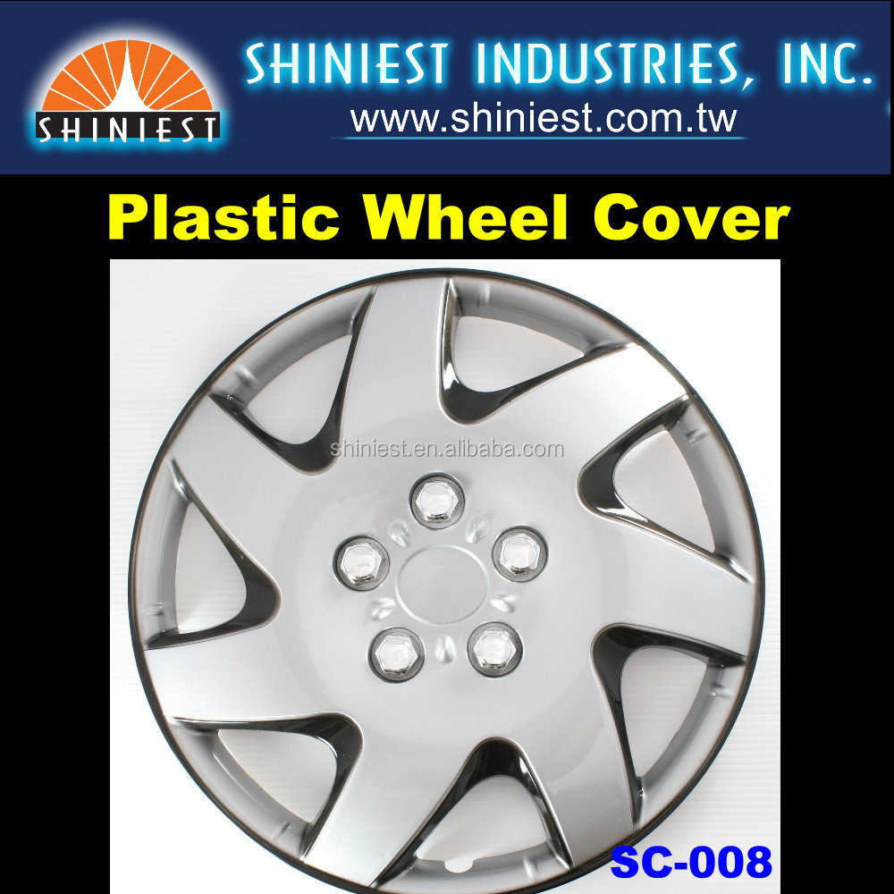 "Awesome High-Quality SC-008 Auto Plastic Wheel Covers (Trucks and Cars) fitting Wheel size for 14"" and 15"""