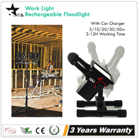 [STARLED] IP65 Portable LED WorkLight 30W flood light rechargeable led