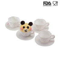 FDA approved top selling products non toxic resuable silicone cupcake mold