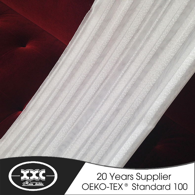 nylon line hot selling sheer curtain fabric