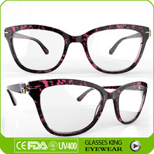 Fashion cat eye frame optical glasses, acetate eyeglasses