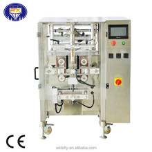 Automatic vertical form fill seal pouch packing machine for food