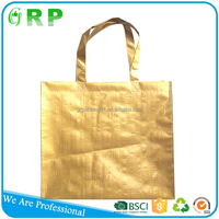 High quality customized outdoor pp woven luxury shopping paper bag
