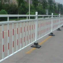 Plastic pedestrian barriers retractable demountable safety fence road traffic barriers