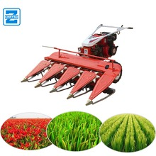 high efficiency wheat reaper binder mini rice paddy cutting machine