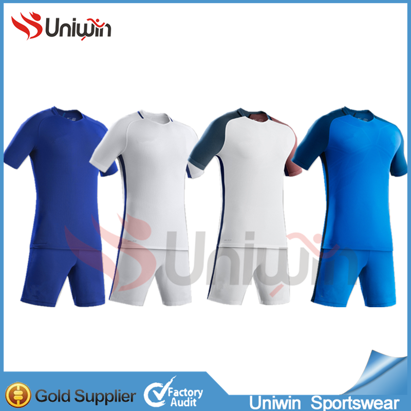 2017 Custom soccer jerseys Men Sublimation soccer jerseys made in China