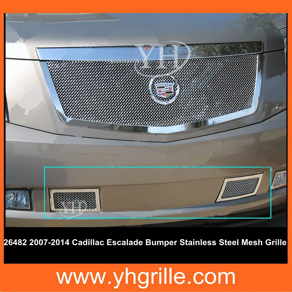 Made In Shanxi,China Car Bumper Front Grille For 2007-2014 Cadillac Escalade Not Fit Platinum And Hybrid Models
