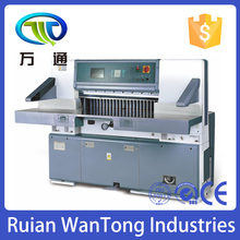 QZX920 Heavy Duty Single Hydraulic Double Guide Digital Display Guillotine Paper Cutting Machine