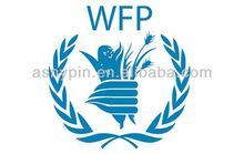 World Food Program logo custom PVC key chain