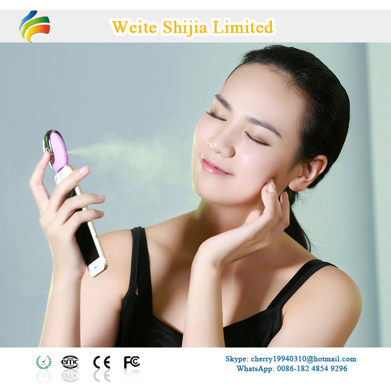 electric mobile skin care handheld facial spray face steamer/ facial steamer