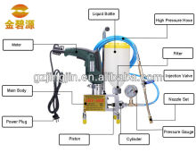 Single line liquid grouting pump,pu resin injection machine