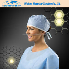 Disposable non-woven mab cap/disposable surgical hat