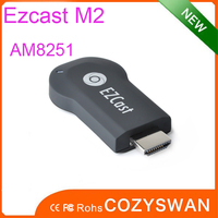 Highspeed google chromecast android tv dongle/stick ezcast 1.2Ghz CPU Amlogic 8251 processor cast phone to big tv screen