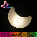 PLastic Christmas illuminting changin color wireless LED moon light