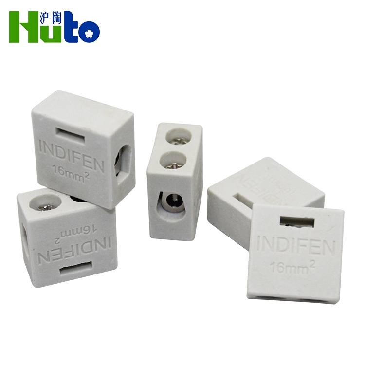 Practical Glazed Or Unglazed Female Terminal Connector Block