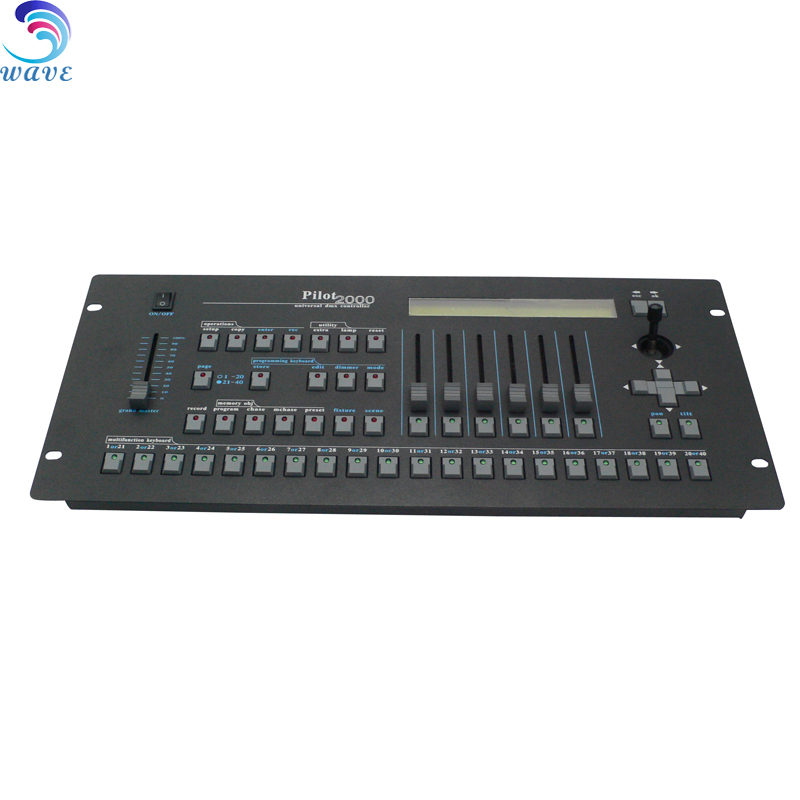 pilot 2000 controller dmx console mini for event lighting