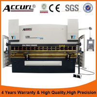 Accurl Brand manual profile bending machine with CE certificate