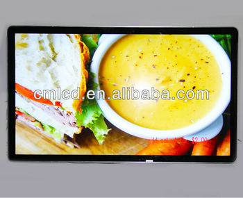 "55"" led advertising screen for commercial advertising"