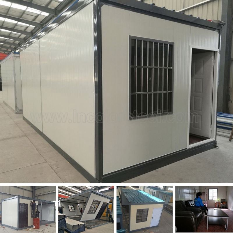 Manufacturerng customized heat resistant residential steel prefab beach convenient house