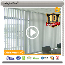 Polyester Screen Sheer Fabric Office Vertical Blinds