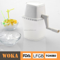 Best selling ice shredder Plastic Ice crusher and snow ice shaver machine selling on Alibaba
