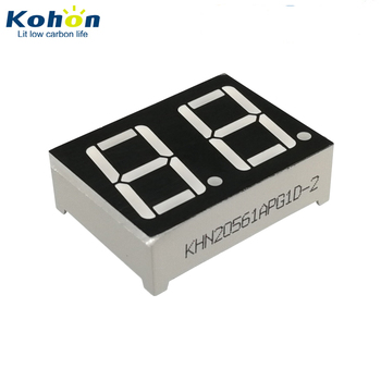 Common Anode Green Color 2 Digit 7 Segment LED Display Nixie Display