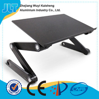 Cheap hot sale height adjustable laptop lap desk folding laptop stand for bed