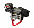 chima utility winch 5000lb wire rope w/integrated sealed solenoid single line pull