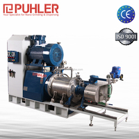 Puhler Oil Mill Machinery Prices Disc Type Horizontal Bead Mill For Printing Ink
