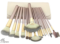 18 Pcs/kits Pro Cosmetic Makeup Brush Set Foundation Powder Eyeliner Brushes, full complete makeup brush set,makeup gift sets