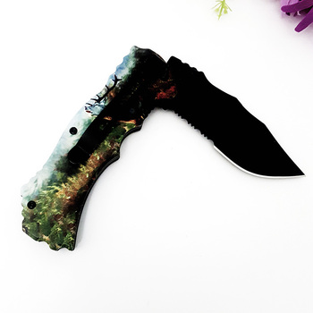 Outdoors Self Protection Fold High Tool Knife