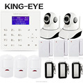 2017 New Hot Sales Wifi GSM Wireless Home Burglar Security HD IP Camera Alarm System